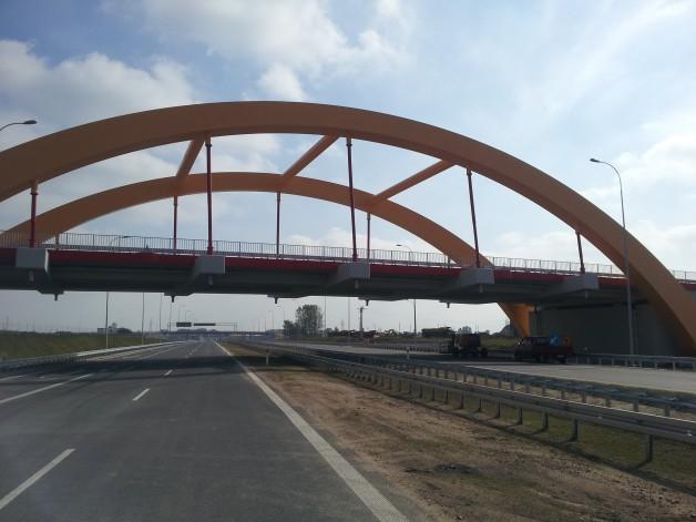 Mosty i Wiadukty – autostrada A1 Toruń-Stryków. Polska.