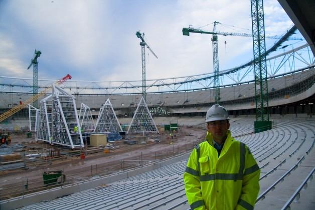 2012 London Olympic Stadium.