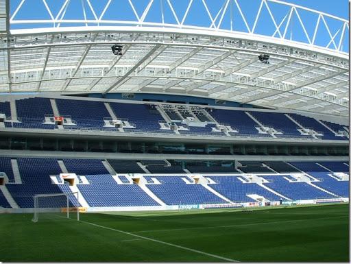 Stadion Piłkarski klubu F.C. Porto. Portugalia.