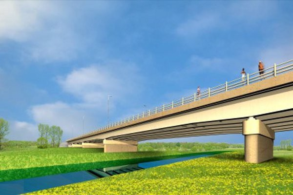 Cross-boarder Bridge, Sieniawka – Zittau