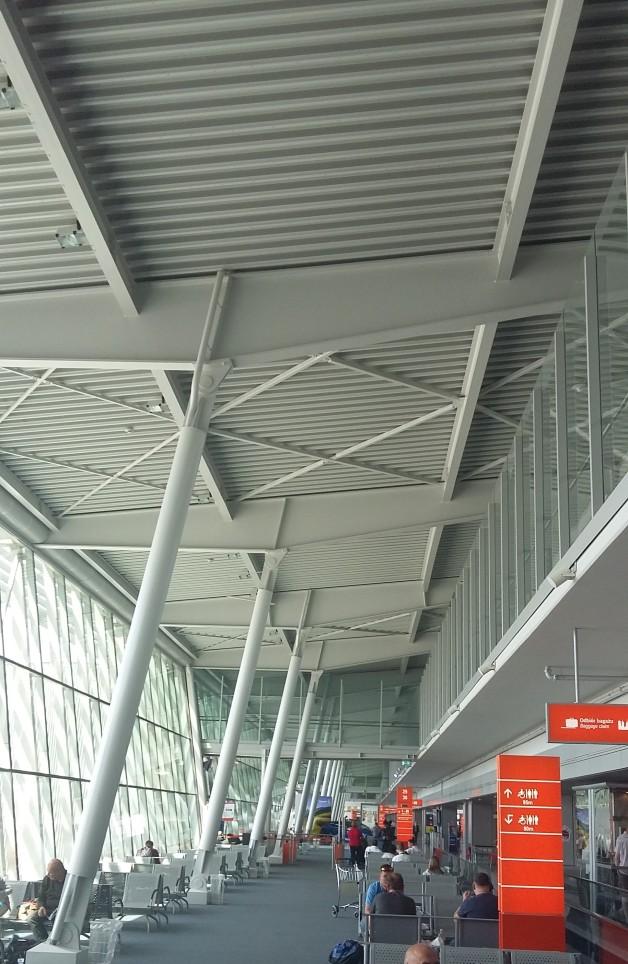 Chopin International Airport in Warsaw