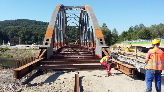 Railway Arch bridge, Sucha Beskidzka, Poland
